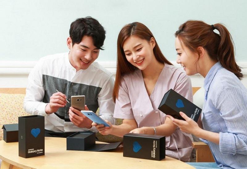 Samsung Galaxy Note FE lên kệ