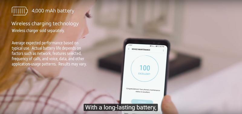 Đánh giá Samsung Galaxy S8 Active: Pin