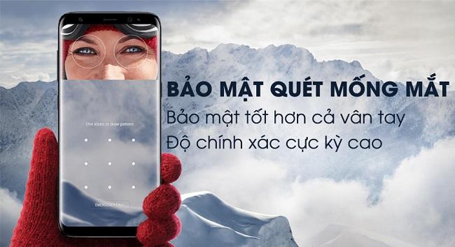 Nên mua Samsung Galaxy S8 hay Galaxy S8 Active: Bảo mật