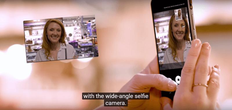 Cách test Samsung Galaxy S8 Active cũ: kiểm tra camera