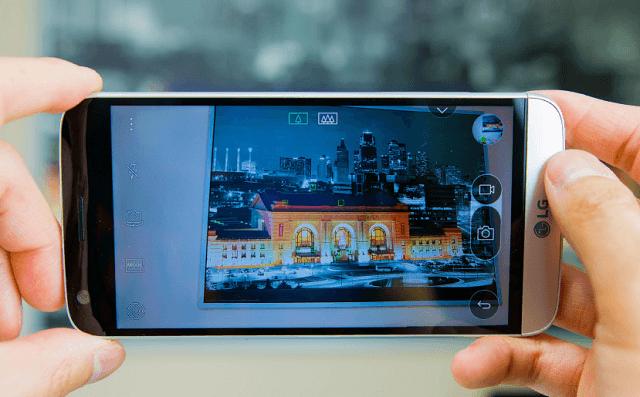 Camera LG G5