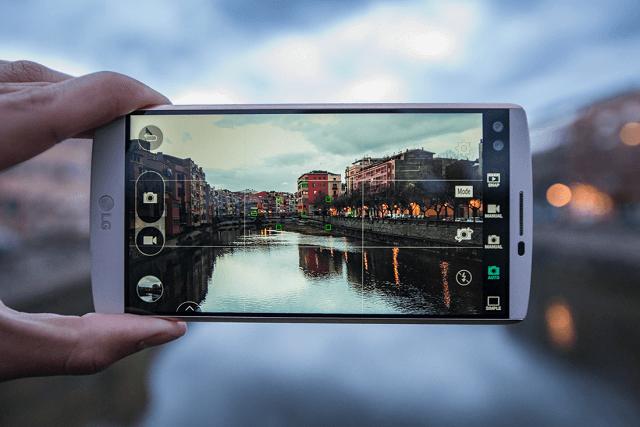 Camera LG V10