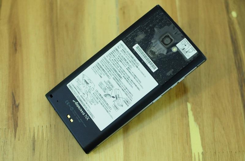 Thiết kế Fujitsu Arrow NX F06E