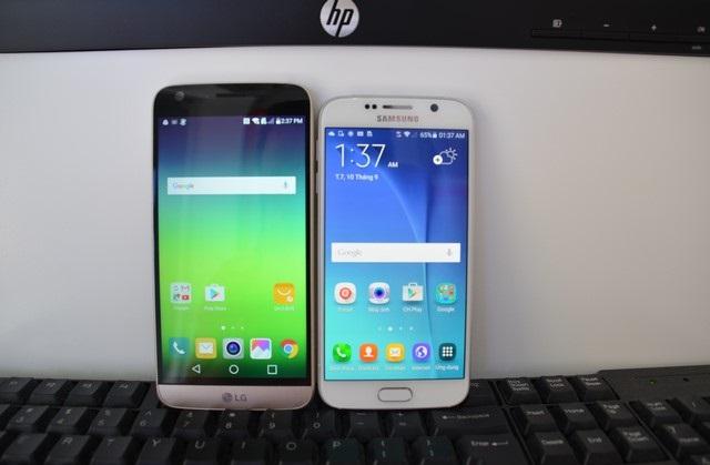 Nên mua Samsung Galaxy S6 hay LG G5