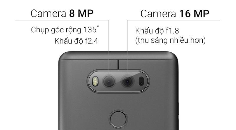 Camera LG V20 2 SIM