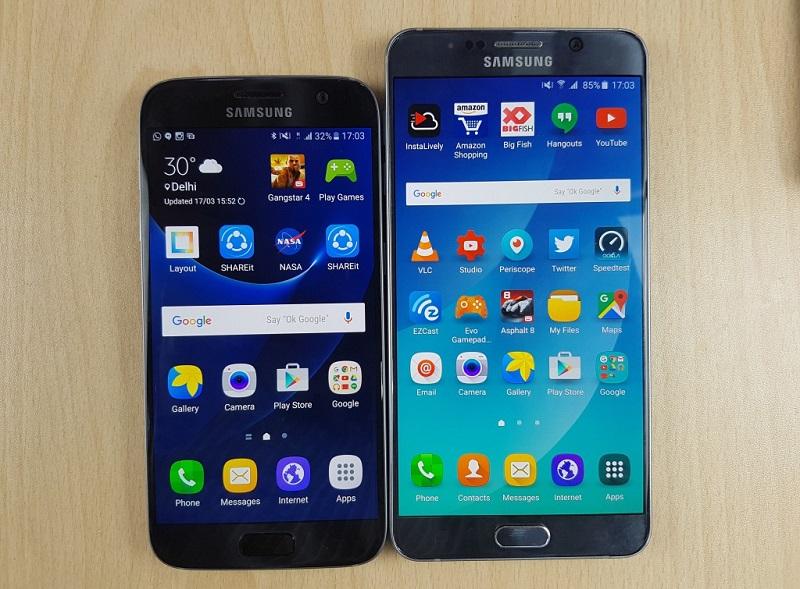 Samsung Galaxy S7 và Galaxy Note 5