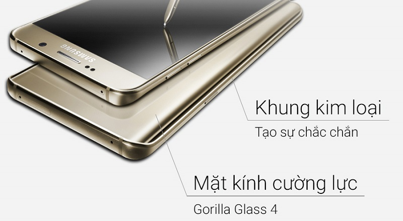 Thiết kế Note 5