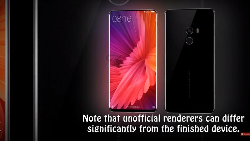Thiết kế Xiaomi Mi MIX 2 vs Samsung Galaxy S8 Plus