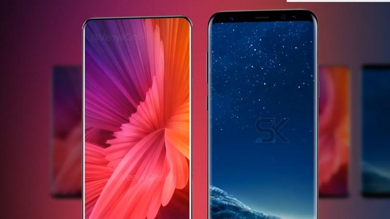 Xiaomi Mi MIX 2 vs Samsung Galaxy S8 Plus