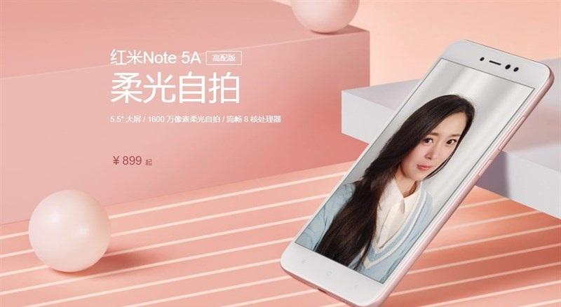Camera Xiaomi Redmi Note 5A
