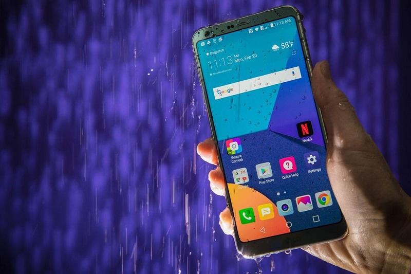 LG G6 chống nước, bụi