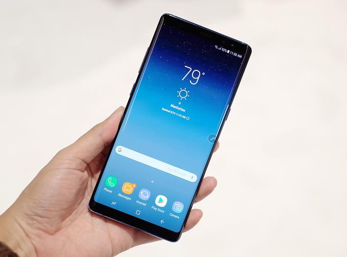 Ảnh thực tế Galaxy Note 8