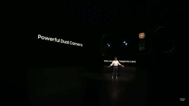 Camera kép trên Samsung Galaxy Note 8
