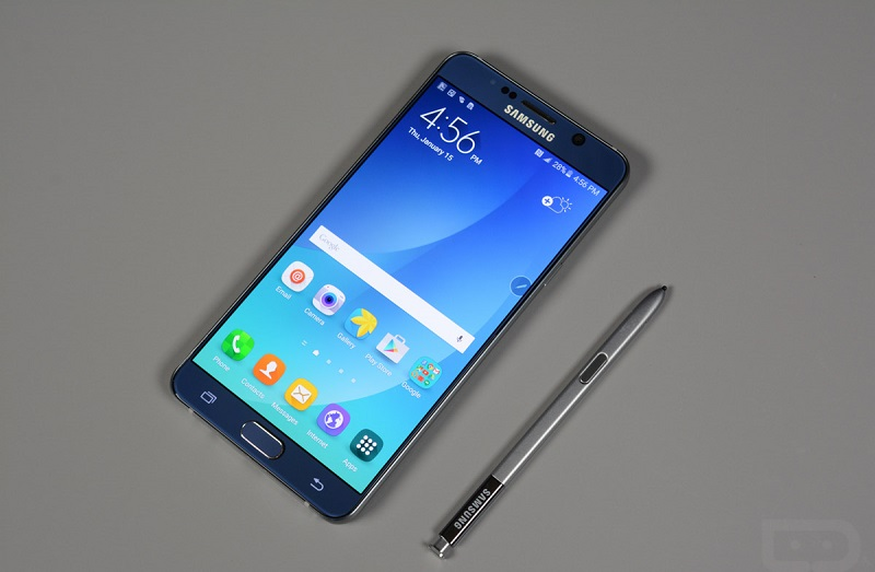 bút S-Pen trên Samsung Galaxy Note 5