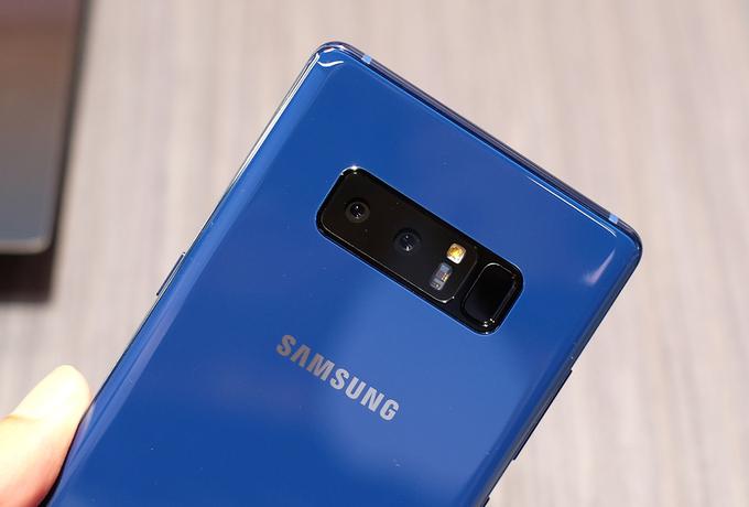 Camera Galaxy Note 8