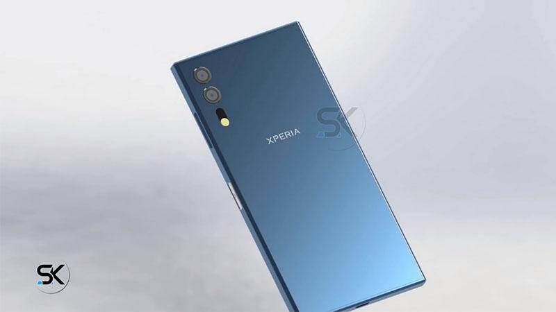 Thiết kế Concept Xperia XZ 2018