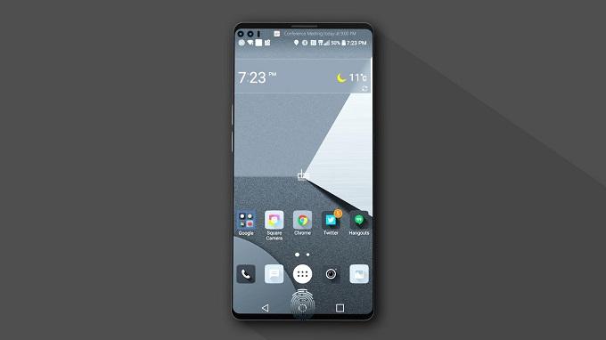 LG V30 vân tay siêu âm