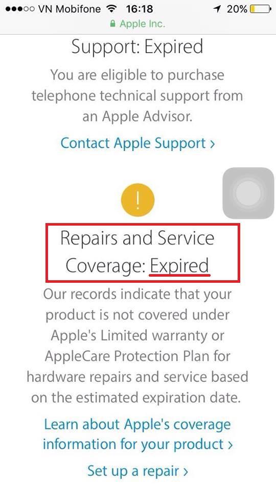 Cách đơn giản kiểm tra iPhone chính hãng: Bước 3