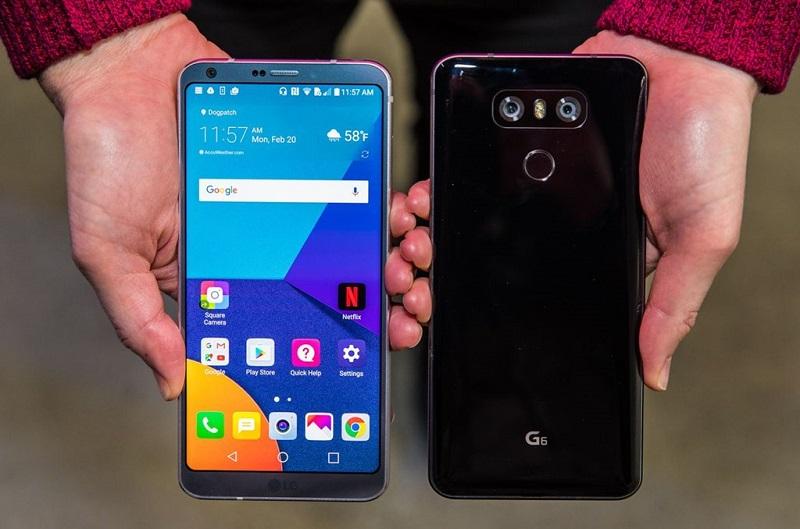 So sánh LG G6 và Huawei P10: Thiết kế G6