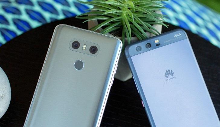 So sánh LG G6 và Huawei P10