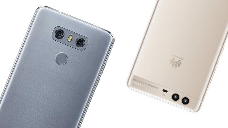 So sánh LG G6 và Huawei P10: Camera