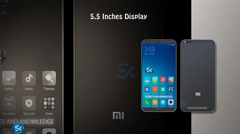 Thiết kế Xiaomi Mi 6C