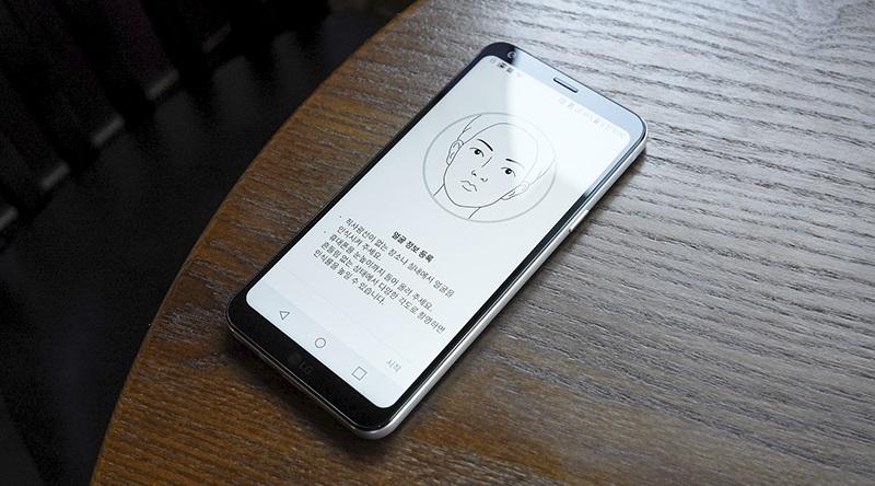 Đập hộp LG Q6: Bảo mật