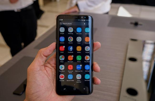 cấu hình Samsung Galaxy S8 2 SIM