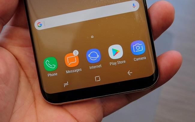 Mặt trước Samsung Galaxy S8 2 SIM