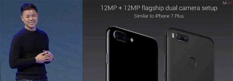 Camera Xiaomi Mi A1