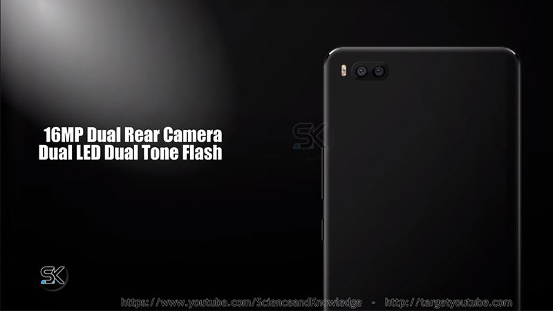 Mặt lưng của Xiaomi Mi7