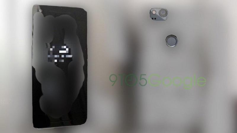 Thiết kế Google Pixel 2