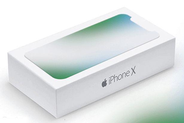 Vỏ hộp được cho là của mẫu iPhone