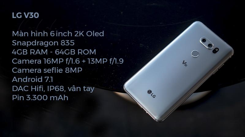 Cấu hình LG V30