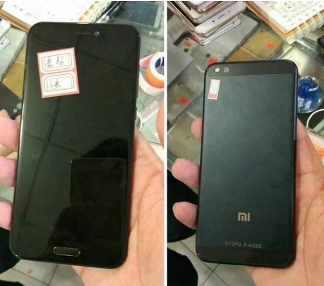 Ảnh Xiaomi Mi6 rò rỉ trước đó
