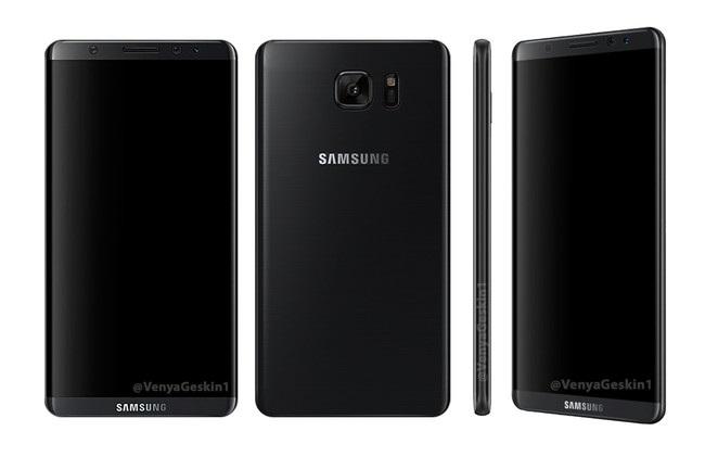 Samsung Galaxy S8 sẽ có thiết kế dạng cong cùng viền màn hình siêu mỏng