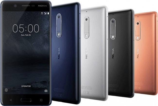Thiết kế mới Nokia 5
