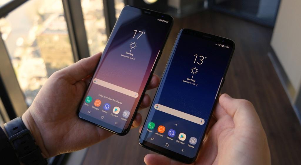 Samsung Galaxy S8, Galaxy S8 Plus