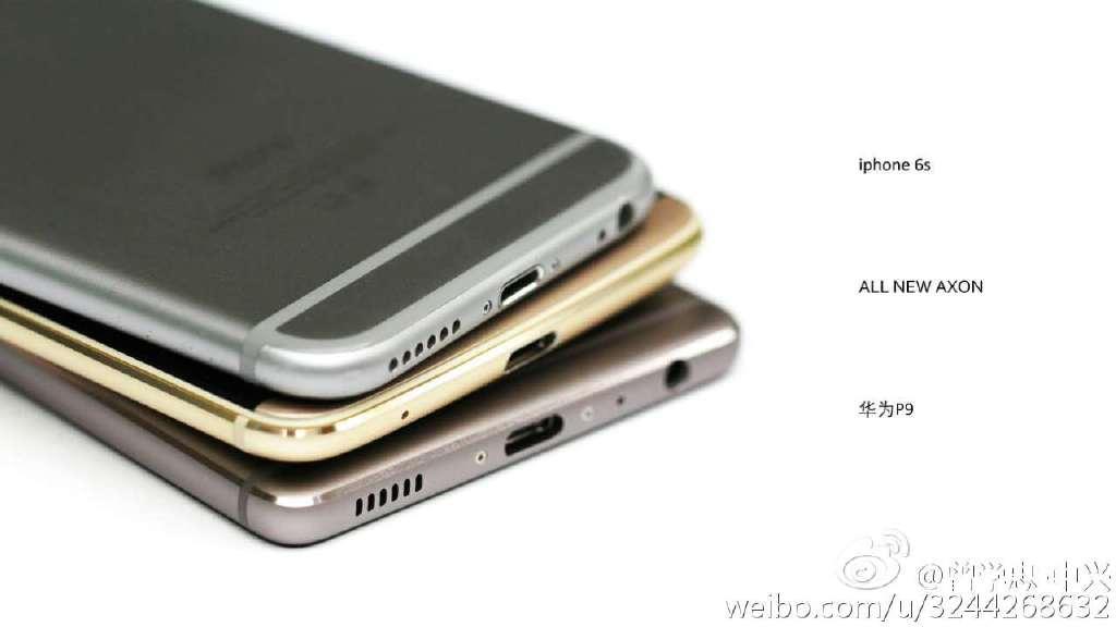 ZTE Axon 7 có thiết kế khá giống iPhone