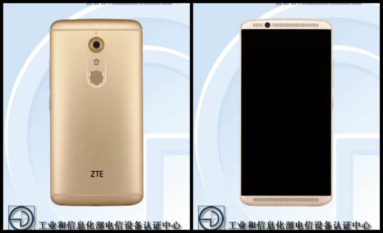 Hình ảnh thiết kế tổng thể của ZTE Axon 7