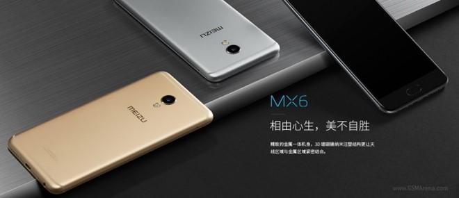 Meizu MX6 trình làng 2