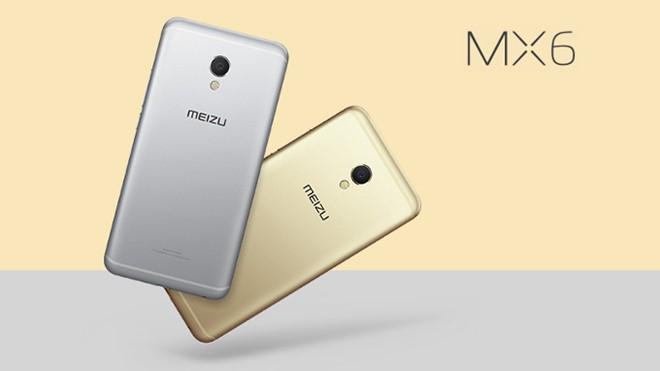 Meizu MX6 trình làng