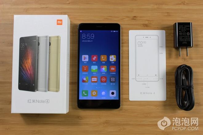 Xiaomi Redmi Note 4 và phụ kiện kèm theo