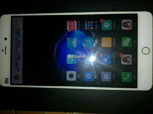 Ảnh Mi 5S rò rỉ trước đó với nút Home mới giống iPhone 7
