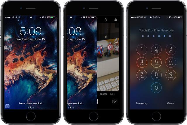 Cách mở khóa mới trên iOS 10.