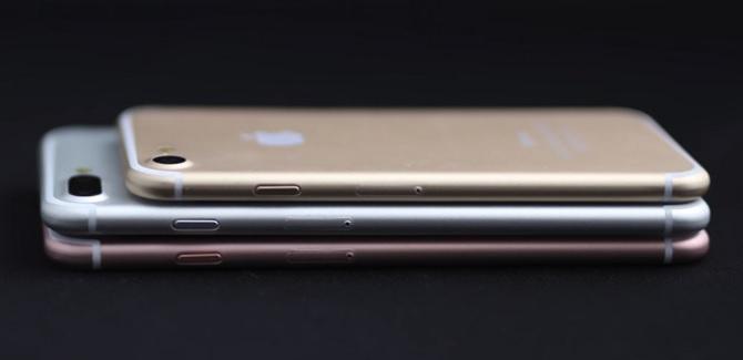 iPhone 7 sẽ được trang bị RAM 3 GB, chip A10 2.4 GHz, chống nước và có màu mới