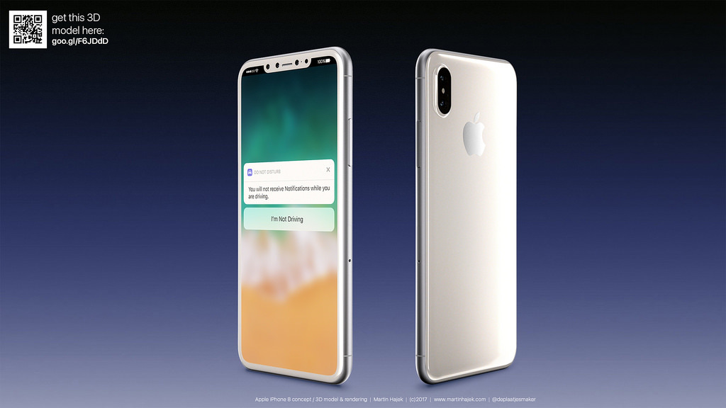 Thiết kế iPhone 8