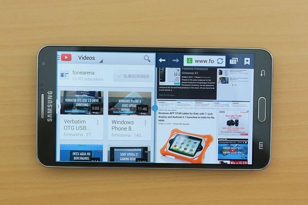 Cấu hình của Samsung Galaxy Note 3 rất mạnh mẽ