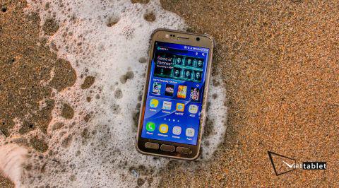 Samsung Galaxy S7 Active  chịu được điều kiện khắc nghiệt