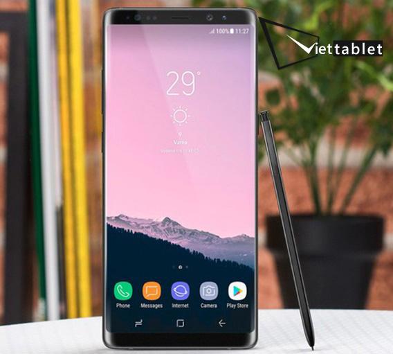 Thay màn hình và mặt kính Samsung Galaxy Note 8 2